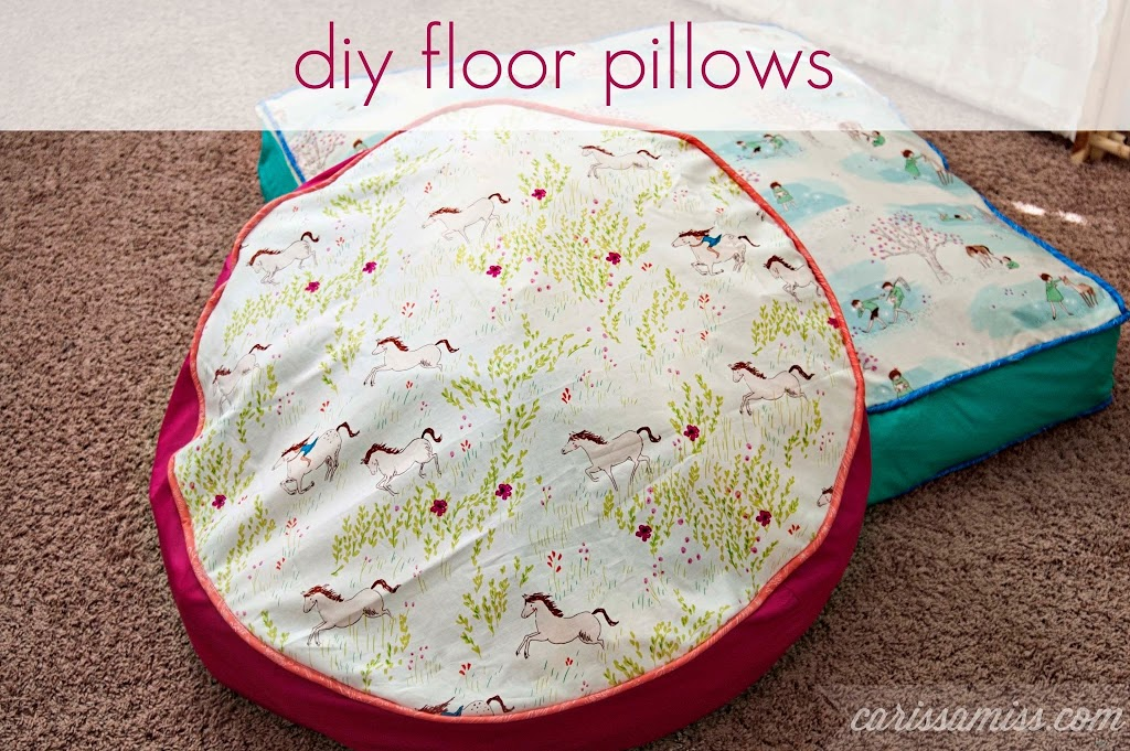Make Your Own Floor Pillows