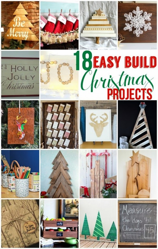 Carissa Miss: 18 Easy Build Christmas Projects